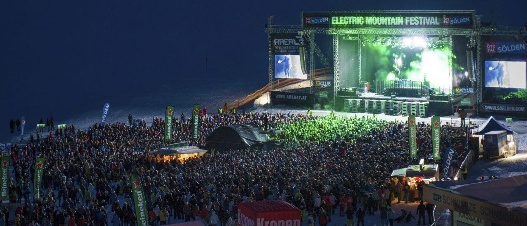 Electric Mountain Festival in Sölden